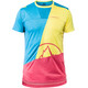 La Sportiva Workout t-shirt Heren geel/blauw